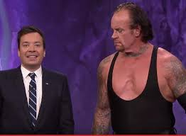 jimmy fallon summons s the undertaker to tombstone a