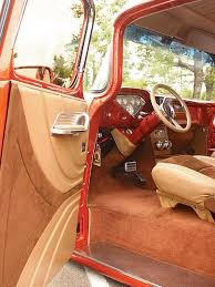 Chevy Truck Interior Custom 1956 Chevrolet U0026 Ford Panel Trucks Custom Classic Trucks