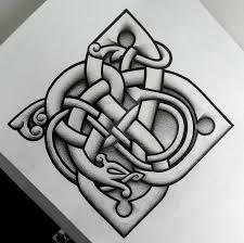 urnes influenced logo and tattoo design by tattoo design on deviantart