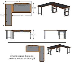 Modern Desk L Modern L Shaped Desks Modern Desk 2 L Shaped Desk Dimensions