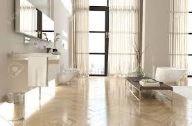 interieur salle de bain moderne intérieur de salle de bain haut de gamme moderne avec un plancher