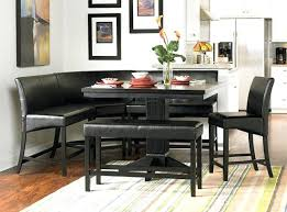 Kitchen Tables With Bench Seating And Chairs by Bench For Dining Room Table U2013 Thelt Co