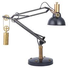 table lamp black hammered metal table lamps buy desk lamp era