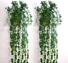cheap 2 5 m artificial leaf garland plants vine