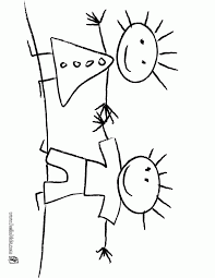 painting coloring page coloring home