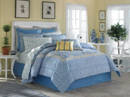 Blue Yellow Comforter Laura Ashley Bed In A Bag Comforters Sheets Set Discounts We