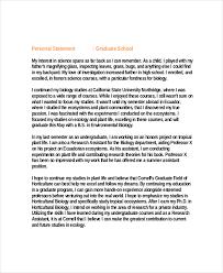 9 graduate personal statement examples free u0026 premium