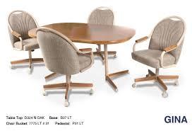 Chromcraft Furniture Kitchen Chair With Wheels Home Designs Kitchen Chairs With Wheels And Great Chromcraft