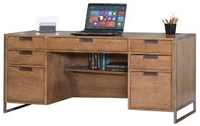 Traditional Office Desks Furniture Traditional Office Design With Wood Credenza Desk And