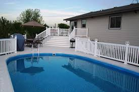 Backyard Pool Fence Ideas Removable Pool Fence Ideas Home U0026 Gardens Geek