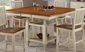 counter height table with butterfly leaf white bar height table and chairs impressive with photo of white bar