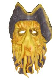 Davy Jones Halloween Costume Pirates Dave Mask Halloween Costume Ideas 2016