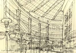 urban sketchers seattle another view of pacific place