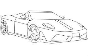 imagenes de ferraris para dibujar faciles dibujos de autos tuning para imprimir y pintar dibujos de autos