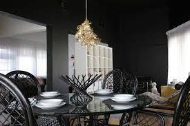 dark dining rooms black dining room gray dining room dining room