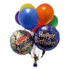 birthday balloons for him birthday balloon bouquet 50 00 ottawa flowers