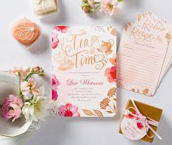 bridal shower best wishes golden afternoon bridal shower invitation themed bridal showers