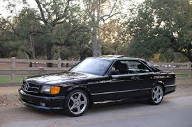 mercedes 560 sec amg for sale 1991 mercedes 560 sec amg wheels one owner documented
