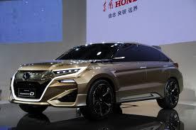 suv honda honda confirms two new suvs for beijing auto show