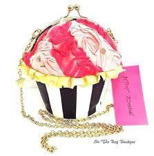 cupcake purse betsey johnson baking bad cupcake crossbody bag clutch purse