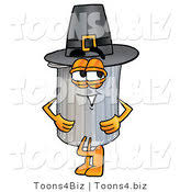 trash can mascot