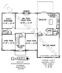 house plans master on berkley house plan house plans by garrell associates inc