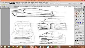 bugatti e code concept sketch by mohammad reza azm designrecords