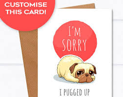 sorry cards i m sorry card etsy