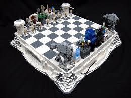 star wars original trilogy chess set mocs building lego