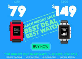 black friday smart watch pebble watch soyacincau com