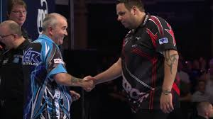 phil taylor sets up world matchplay final with peter wright in