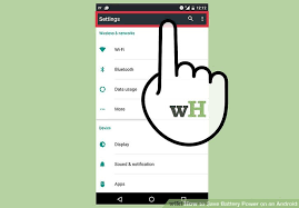 how to save to android 5 easy ways to save battery power on an android wikihow