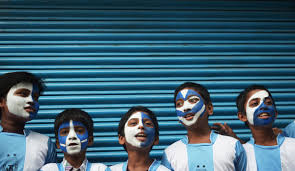 Argentina Flag Face Gallery World Cup 2014 In Pictures The New Daily