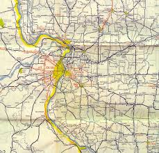 Map Of Belleville Illinois by St Louis Maps Page