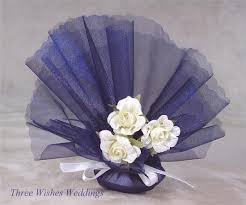 tulle circles three wishes weddings home favour nets 50 navy blue tulle
