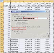 how to set up a pivot table excel pivot table tutorial sle productivity portfolio