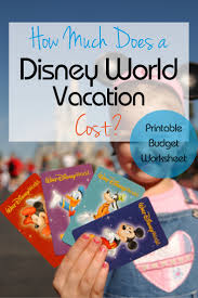 What Does It Cost To by How Much Does It Cost For A Disney World Vacation