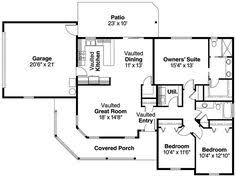 Ranch House Blueprints 1500 Sq Ft Ranch Homes Plans With Side Entrance Garage House