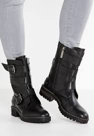 buy boots mumbai pepe helen cowboy biker boots black shoes ankle