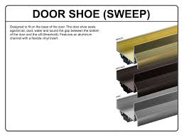 Door Bottom Sweeps For Exterior Doors Gorgeous Door Sweeps For Exterior Doors On Installing A Door Sweep