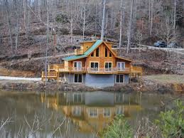 Cabin Floor New 3 Floor Cabin With Large Rec Room Homeaway Beattyville