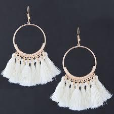 earrings malaysia c110102303 white tassel bohemian earrings malaysia h0127