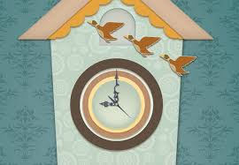 Modern Coo Coo Clock Coo Coo Clock Vector Lindsey Lefevre