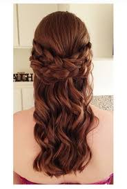 most stylish half up half down prom hairstyles for 2015