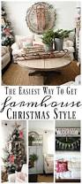 the easiest way to get farmhouse christmas style cozy