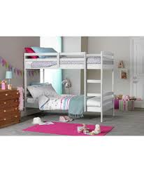 buy josie shorty bunk bed frame white at argos co uk your
