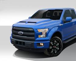 Ford F150 Truck Dimensions - 2015 2018 ford f150 gt500 styled hood 1 piece
