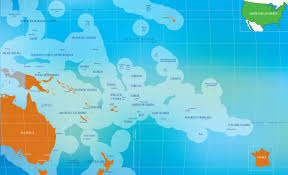 Micronesia Map United States Of America Pacific Community