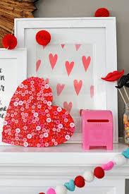 valentine u0027s day button heart craft holidays and valentine crafts