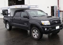 pop up cer toyota tacoma fleet pop up regular 6 bed four wheel cers low profile